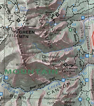 Boulder and Nederland, Green Mountain, CO Topographic Recreation Map ...